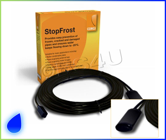 Inside Pipe Heating Cable : Corgi stopfrost m frost protection heating cable system